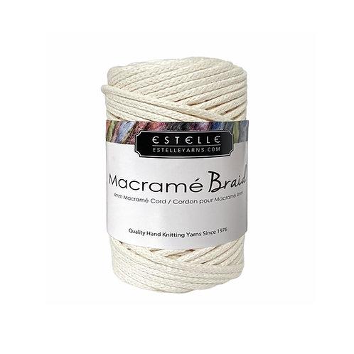Estelle Macramé Braid - Ecru Q41004