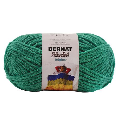 Bernat Blanket Brights - Go-Go Green #12004