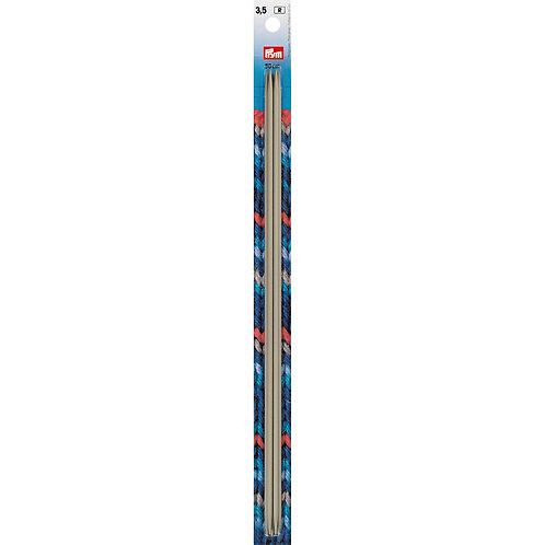 Aiguille à tricoter à 2 pointes 30cm - 3.5mm