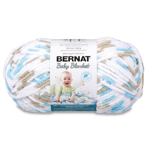 Bernat Baby Blanket - Little Teal Dove #04735