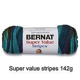Bernat super value stripes