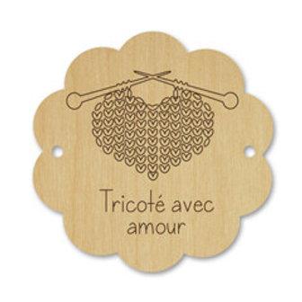 Artcollection - Bouton scallop - tricoté avec amour #026