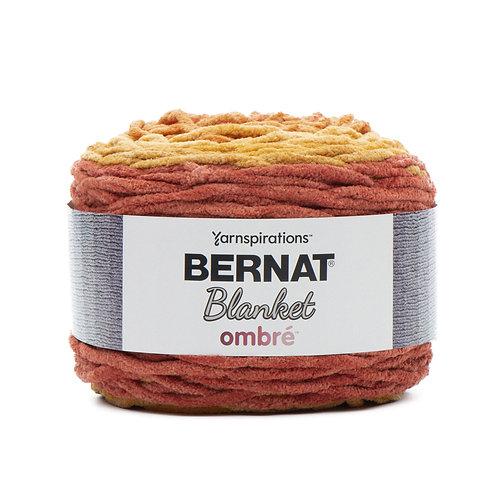 Bernat Blanket Ombre - Orange Crush Ombre #36008