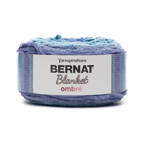 Bernat Blanket Ombre -Shaded Blue Ombre #36010