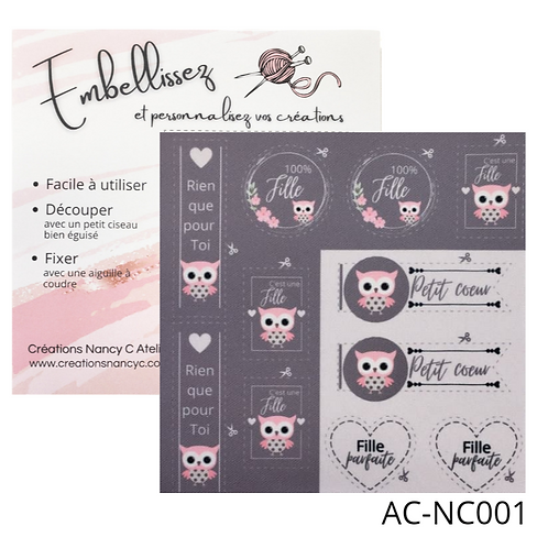 Hibou - fille AC-NC001