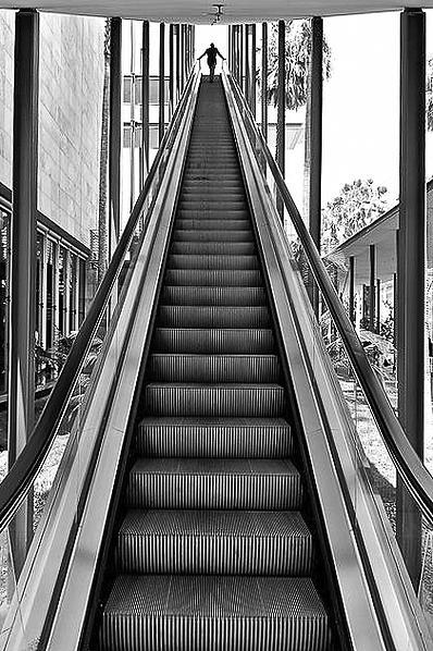 LACMA Escalator