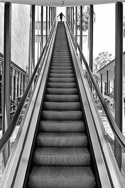 LACMA Escalator