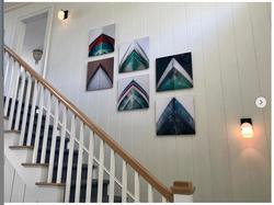 North Fork, LI private home staircase