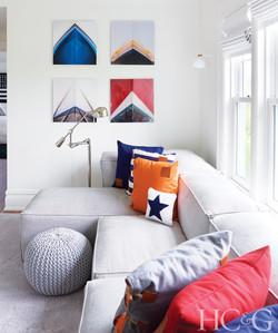 HC&G featuring Timothy Godbold design in Bridgehampton home
