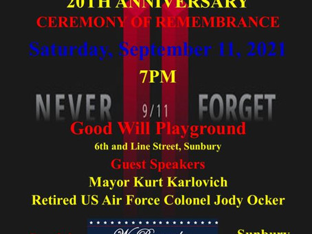 Good Will Hose 9/11 Ceremony