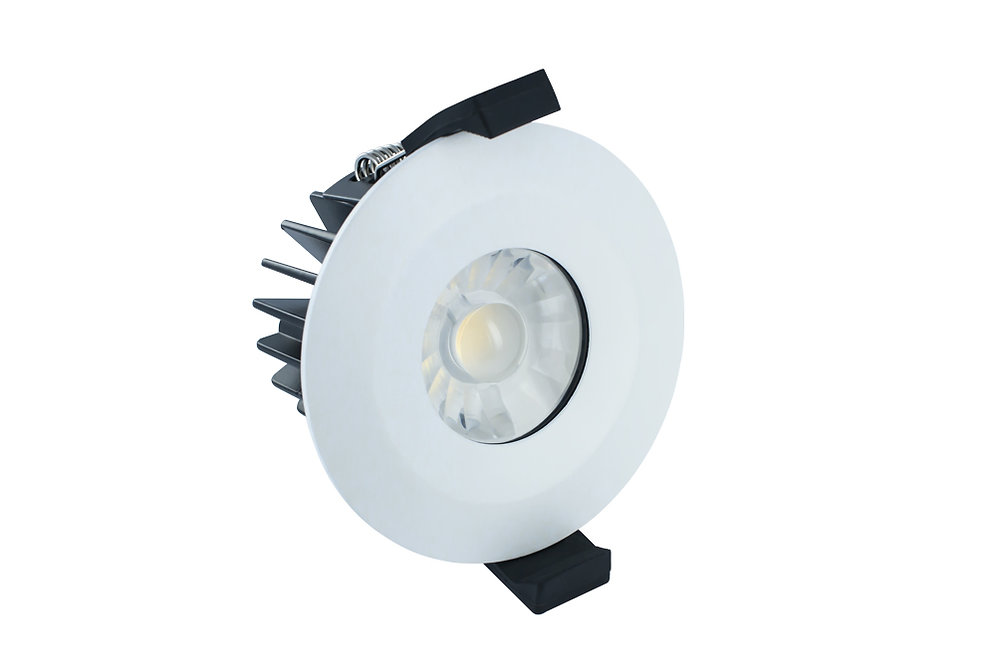 Cool White Rated Dimmable 6 Watt Downlight Led Fire Ip65 bfg76y