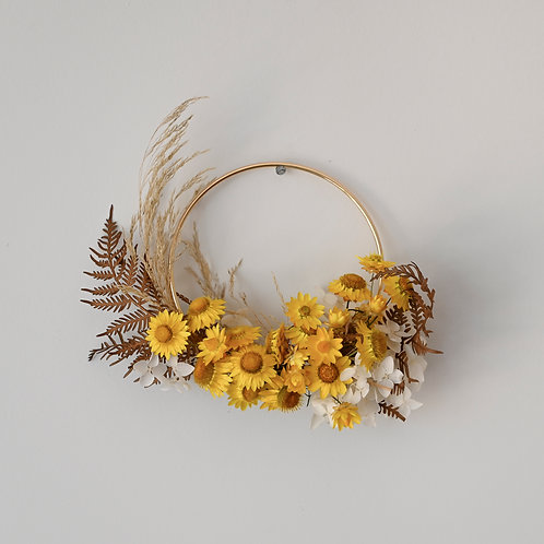 Mini Dried Wreath