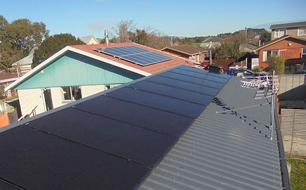 Completed Solar Installation Christchurch