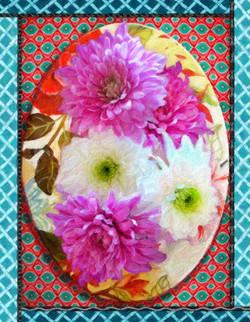 Flowers On Platter