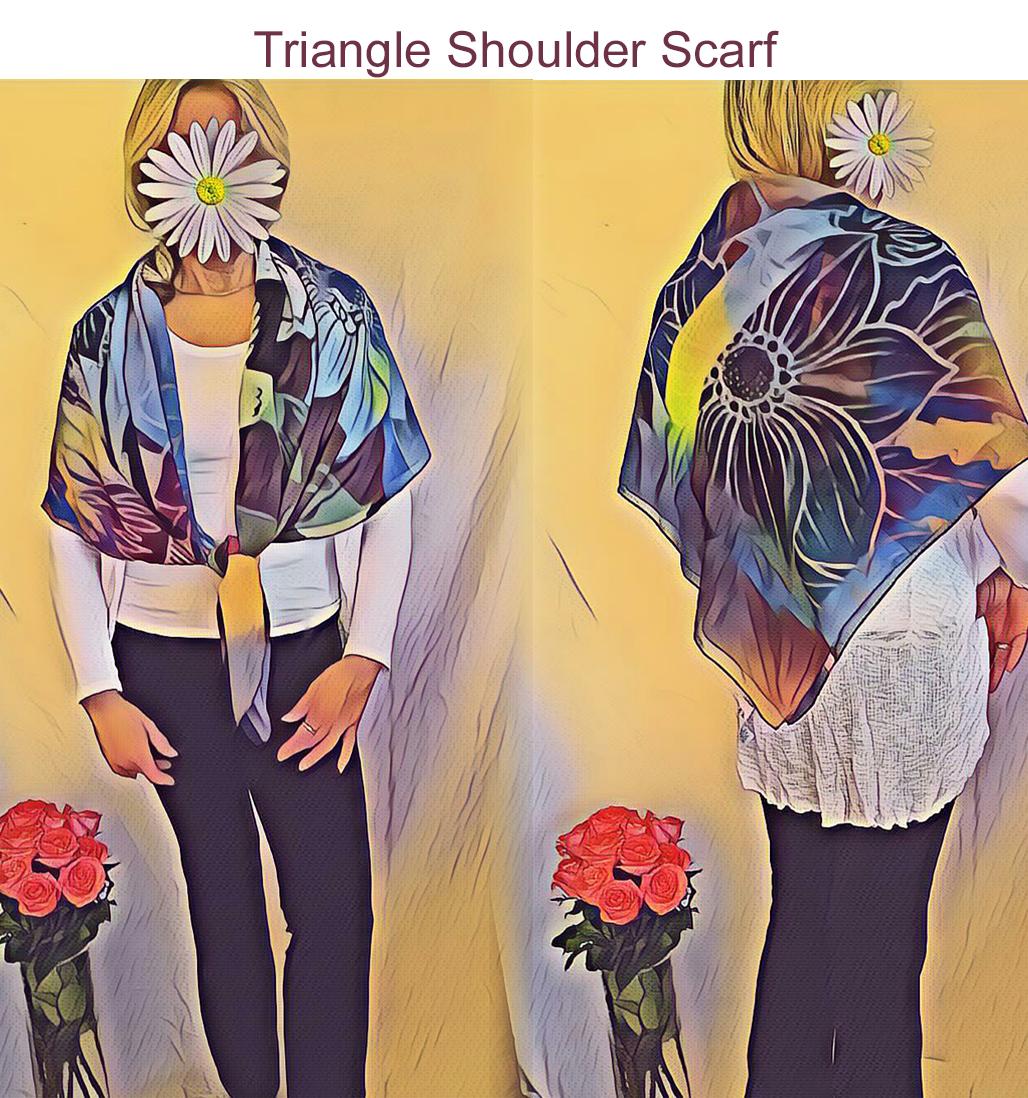 TriangleShoulderScarf