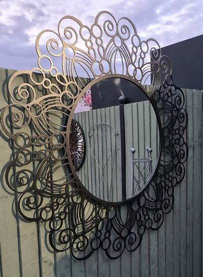 Large Mandala Mirror