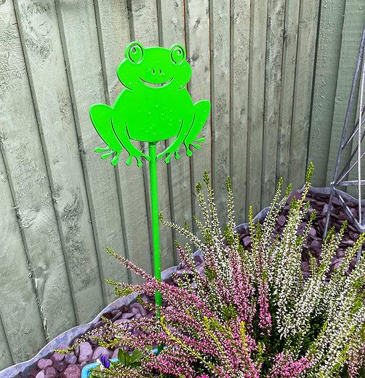 3x 50cm Decorative Garden Stakes.