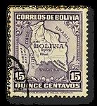 Bolivianische Briefmarke: Grüße aus Bolivien!