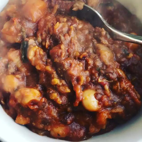 Hearty Vegetable, Bean and Lentil Stew