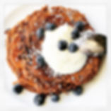 Coco protein pancakes - a perfect way to