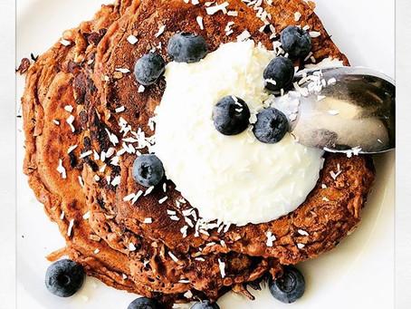 Cocoa Protein Pancakes