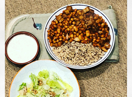 The ultimate spiced pork with chickpeas and butterbeans