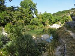Un coin de baignade à quelques pas du Domaine.