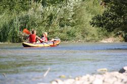 kayak sur la Drôme