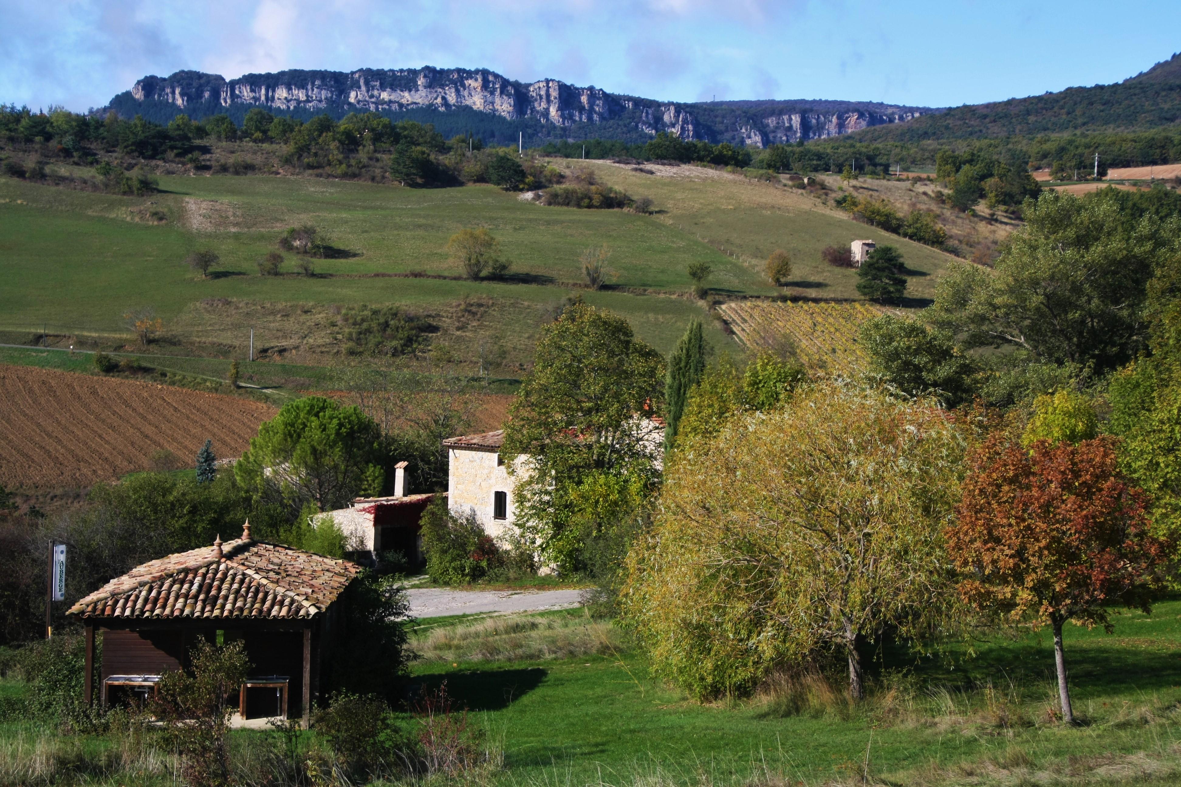 Entre rivière et Vercors.