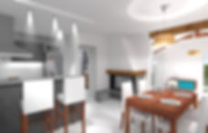 3D d'une cuisine