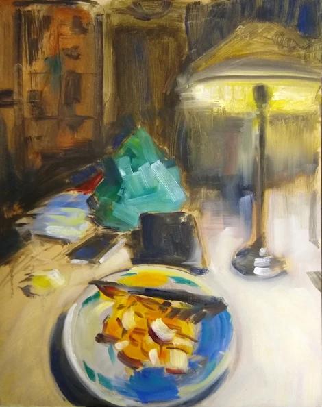 Kitchen Table #1, 2019