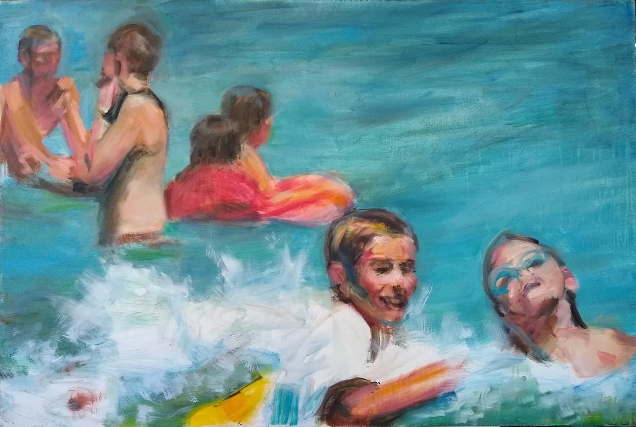 Kids Swimming, 2018