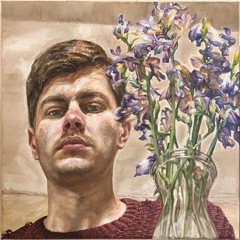 Self-Portrait with Dead Flowers, 2020