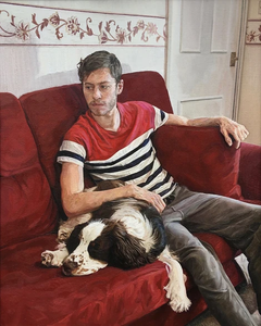 The Painter's Dog Resting, 2019