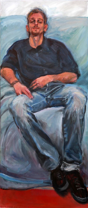 Miguel on the Sofa, 2013