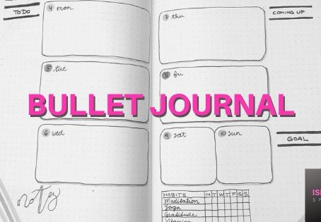 """The Bullet Journal - A brilliant planning tool if you like to """"think on paper"""""""