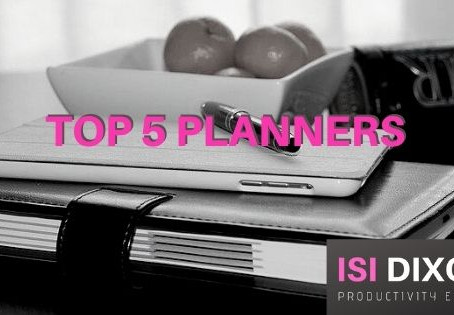 My Top 5 Recommended Planners