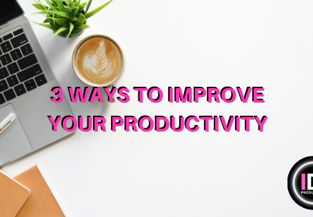 What 3 ways can productivity be increased?