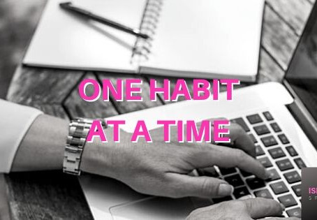 Why it is better to build one habit at a time