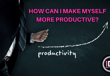 How can I make myself more productive?