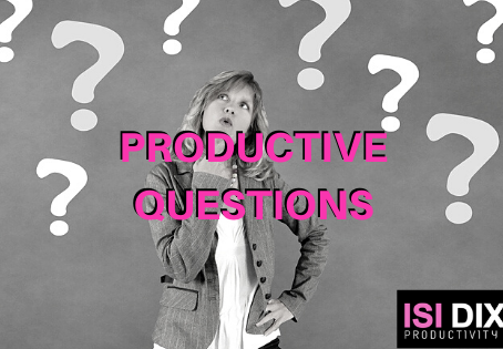 Are you asking yourself productive questions?