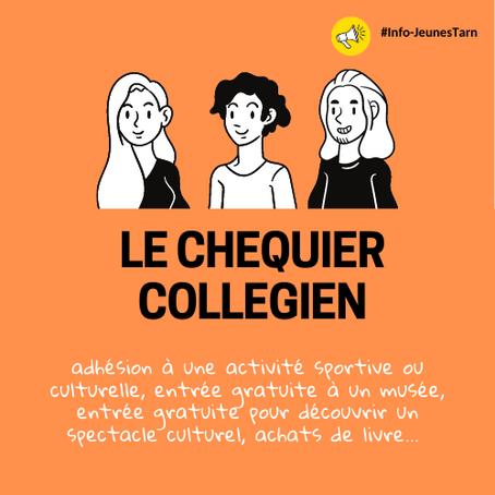 💡Le Chéquier Collégien TARNAIS