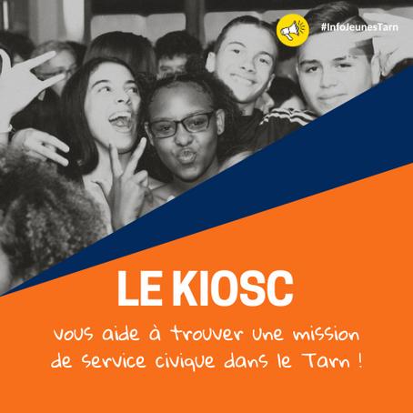 👀 LE KIOSC vous aide à trouver votre mission de service civique !