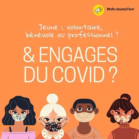 👀 Vous êtes jeune & bénévole, volontaire, professionnel ?