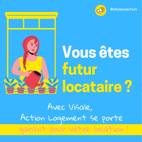 👀 Avec Visale,  Action Logement se porte garant pour votre location !