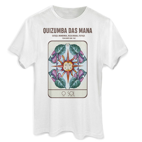 Camiseta Algodão Oversized Tarot
