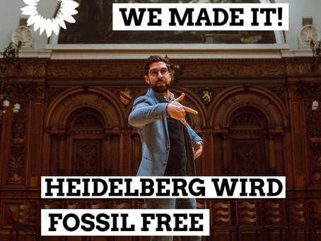 Heidelberg wird Fossil Free