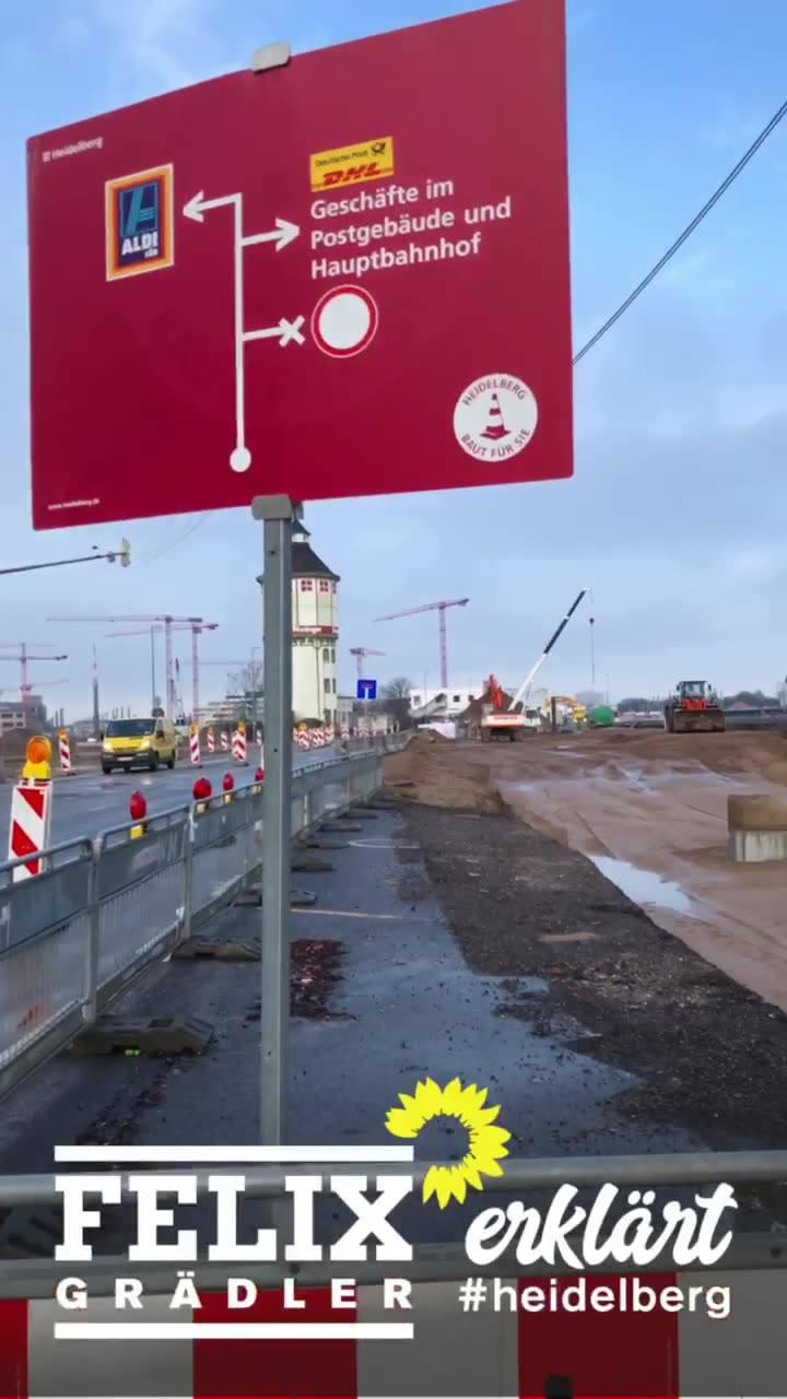 #felixerklärt den Umbau am #Hauptbahnhof Süd