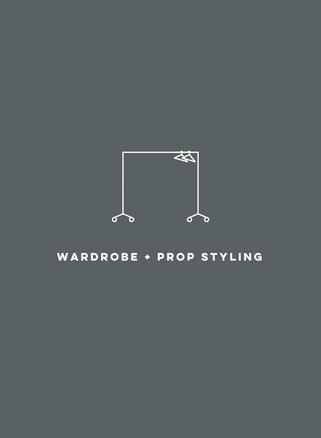 WARDROBE + PROP STYLING