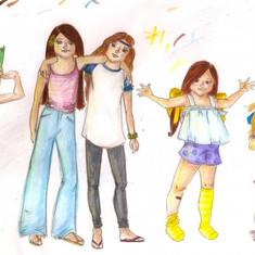 Group of Girls I